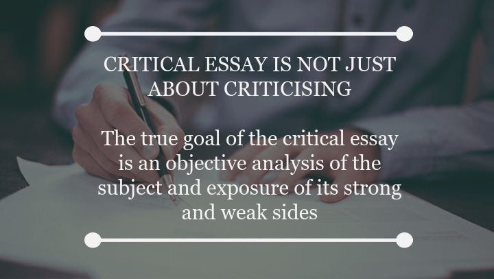 Approaches to writing an essay